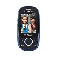 Samsung T249 Quad-Band GSM Unlocked International Cell Phone Bundle For World Travel